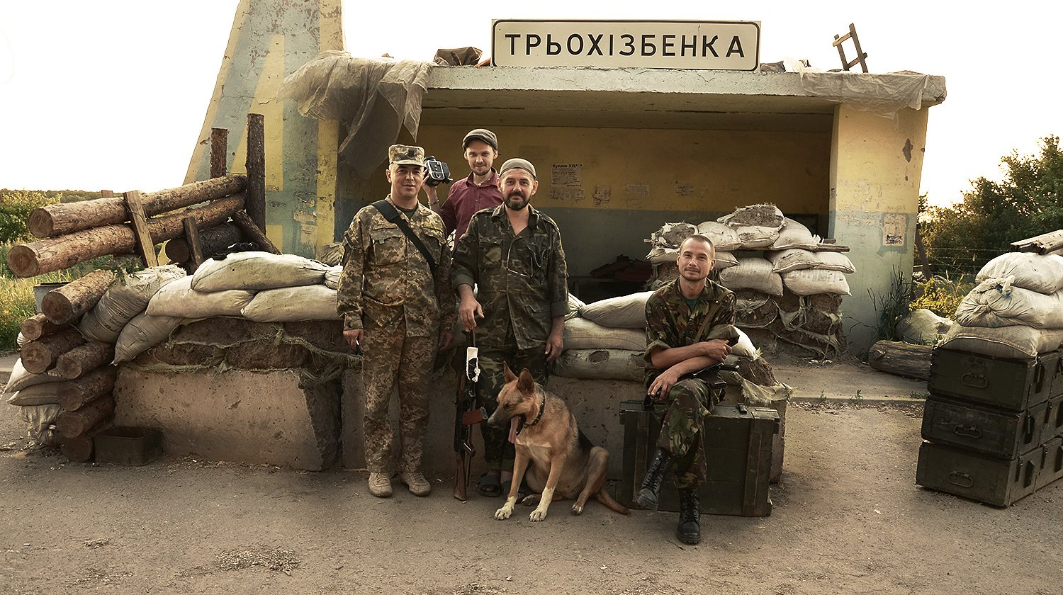 The first meditation about Donbass in Ukraine