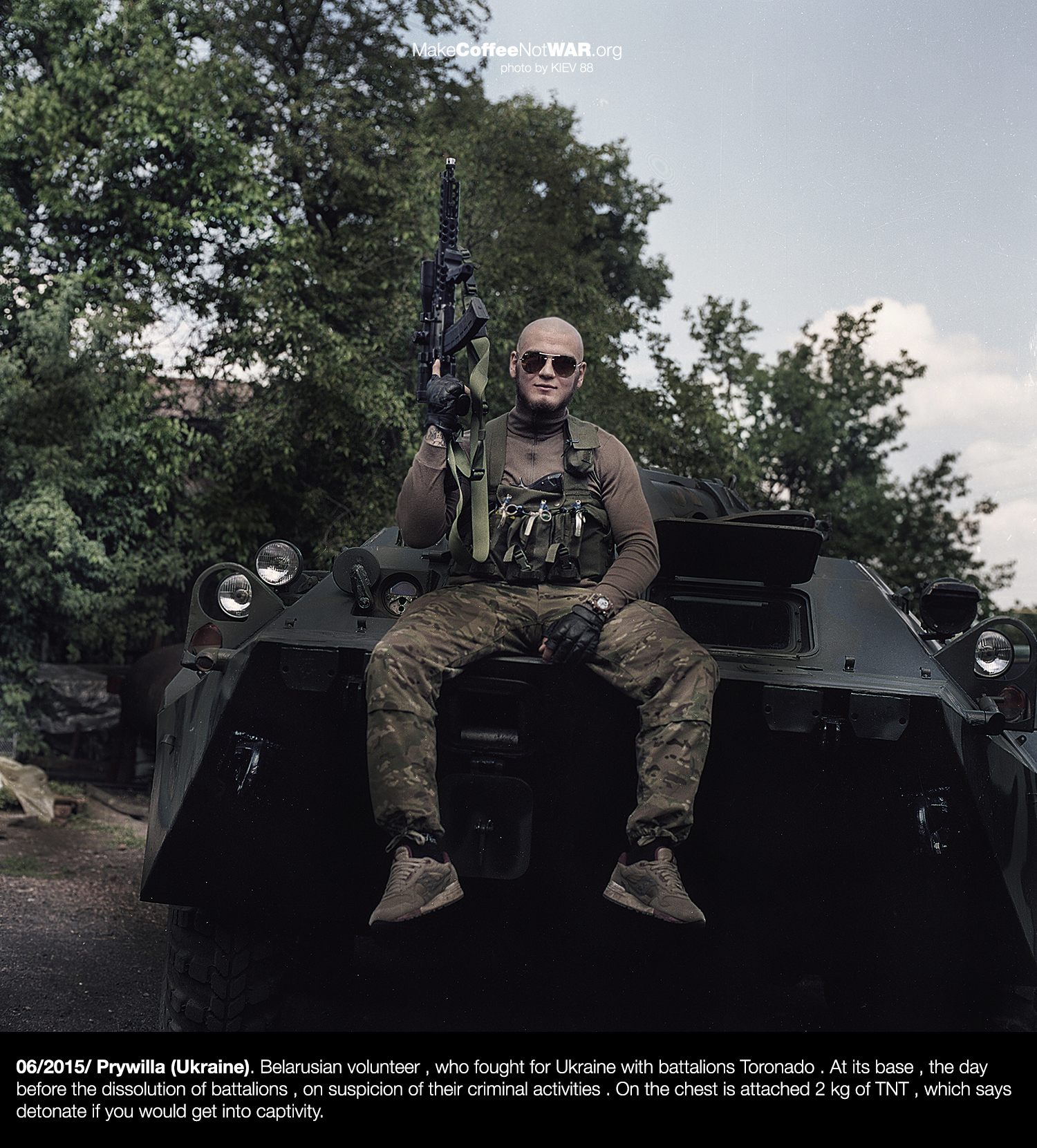 "Special forces of voluntary Ukrainian army calls ""TORONADO"""